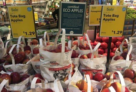 northeast apples on display